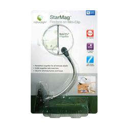 Naturalight StarMag Mini Flexilens Clamp Silver & Black