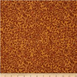 Kaffe Fassett Collective Daisy Chain Ochre Fabric