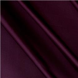 Charmeuse Satin Solid Plum