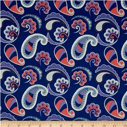 Paisley Please Jumbo Paisley Navy/Multi