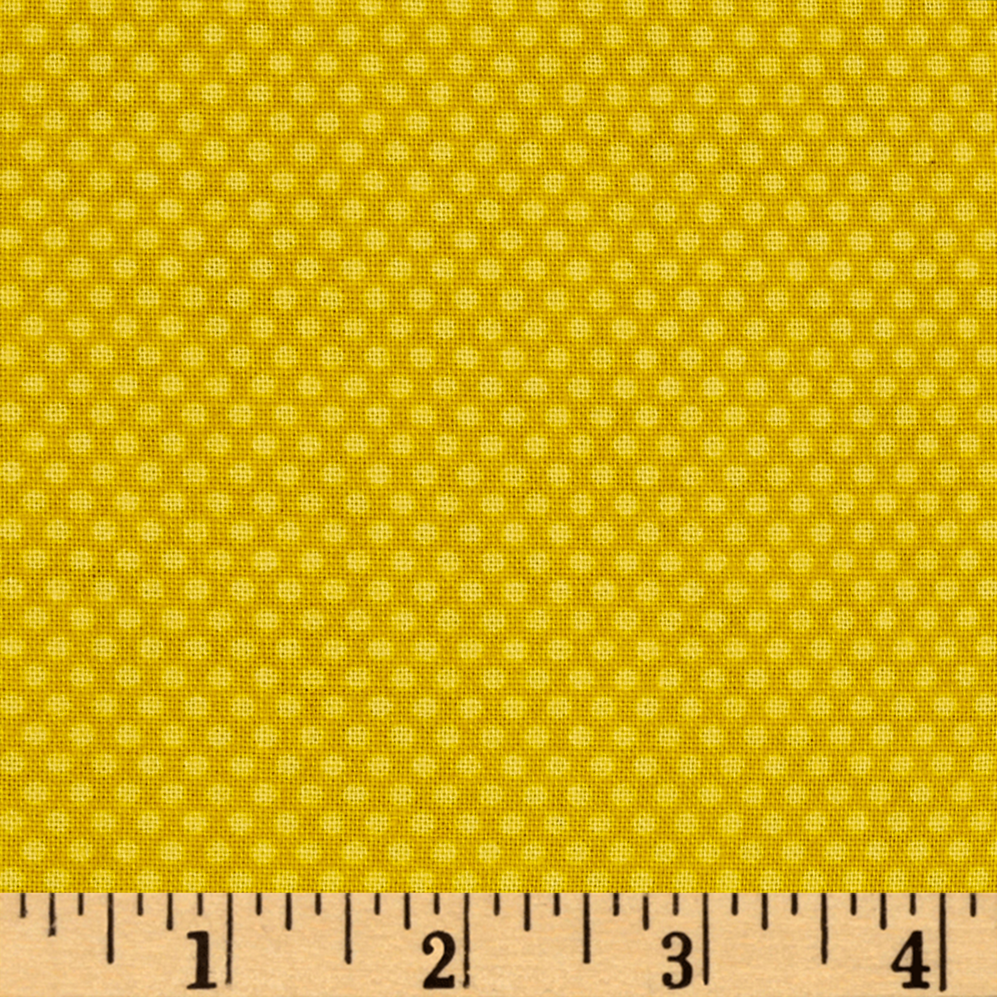 Bree Tiny Dot Yellow Fabric