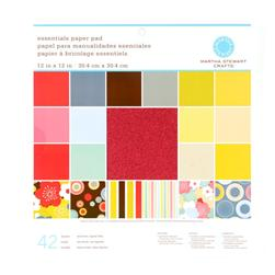 Martha Stewart Crafts Essentials Paper Pad 12'' X
