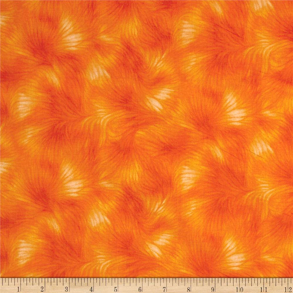 Timeless Treasures Viola Texture Orange