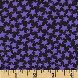 Moda Midnight Masquerade Stars Black/Purple