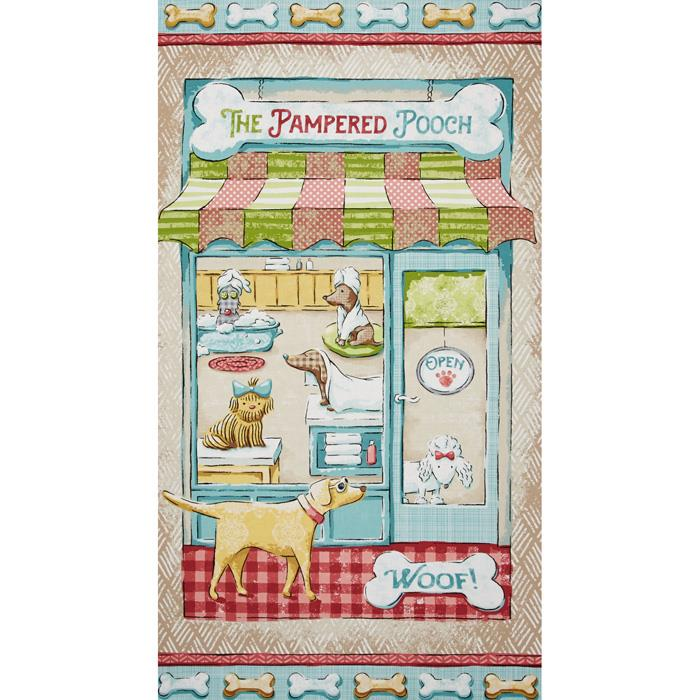 Pampered Pooch Panel Multi