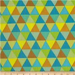 Frippery Triangles Allover Multi