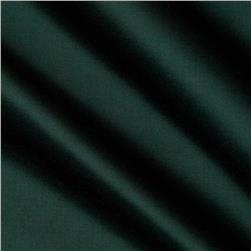 Cotton Blend Satin Emerald