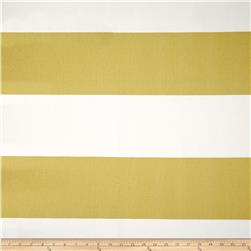 Premier Prints Cabana Stripe Saffron Yellow Fabric