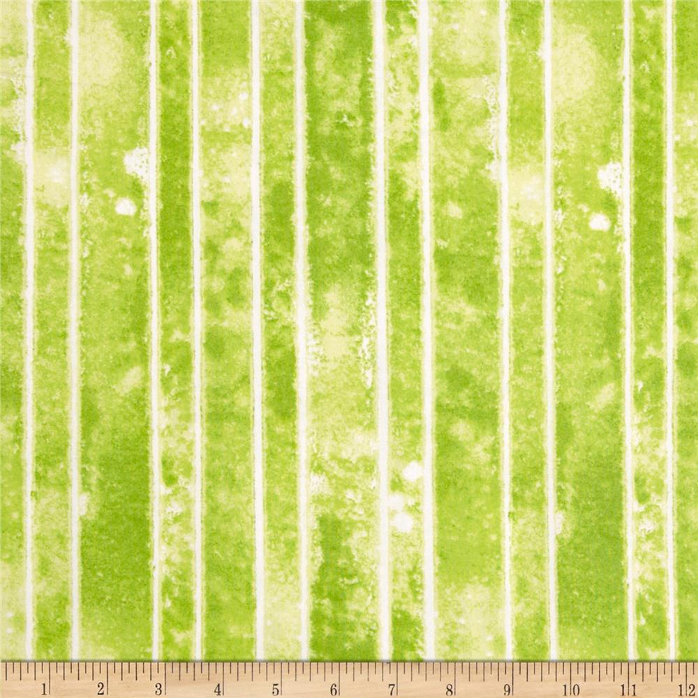 The Garden Club Stripe Texture Green