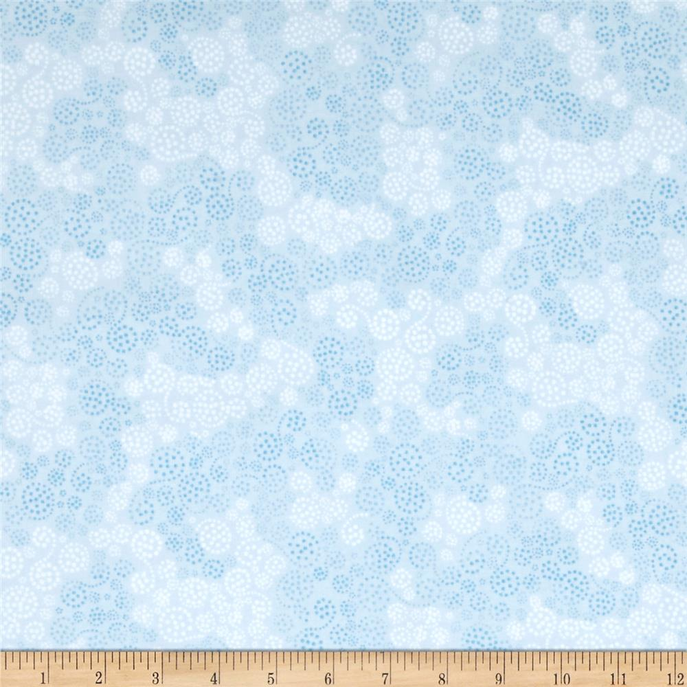 Essentials flannel sparkle light blue discount designer for Sparkly fabric