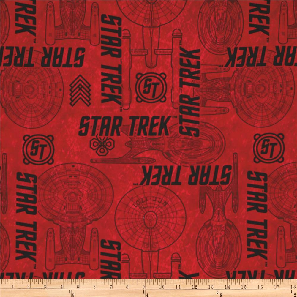 Star Trek Ship Specs Red