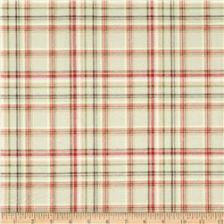 Buggy Barn Flannel Essentials 7 Plaid Cream