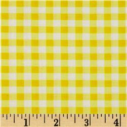Camelot Pink Lemonade Gingham Sunshine