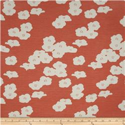 Birch Organic Interlock Knit Elk Grove Poppies Coral