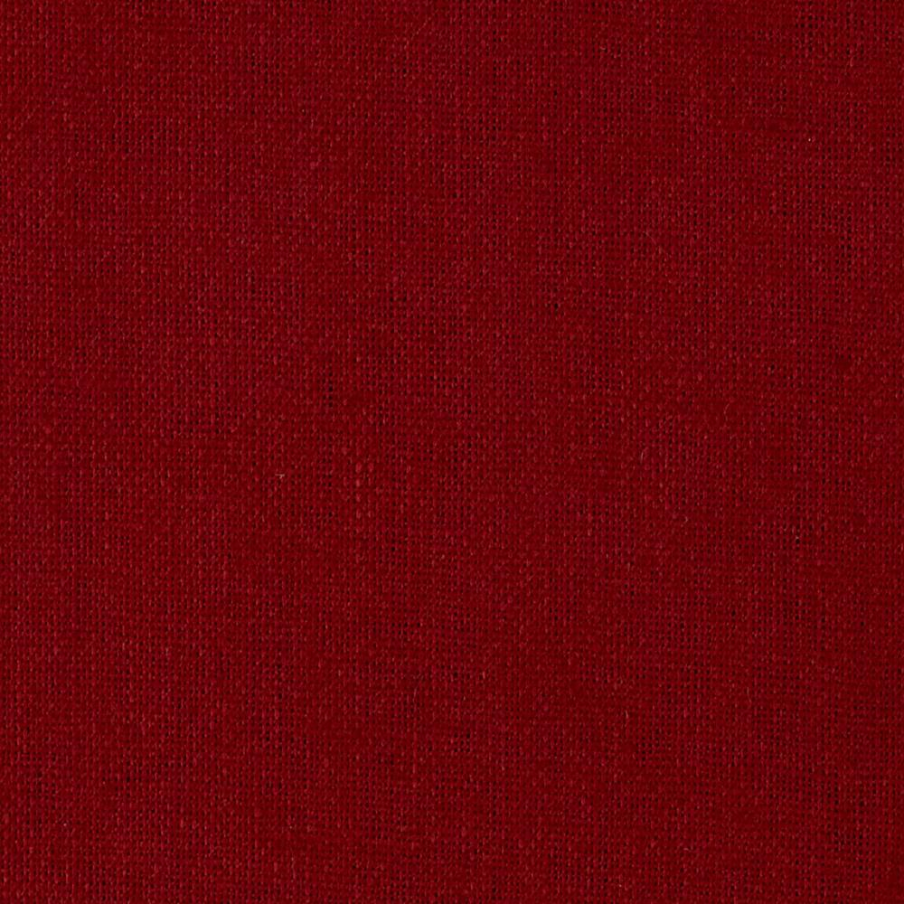 Medium Weight Cotton Linen Brick Red