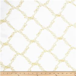 Starlight Affordable Diamonds Embroidered Taffeta Gold