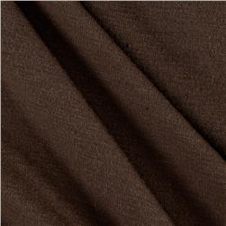 Polyester Jersey Knit Solid Cedar Brown