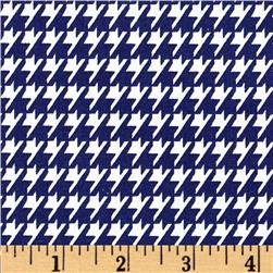 Dots and More Houndstooth Navy/White