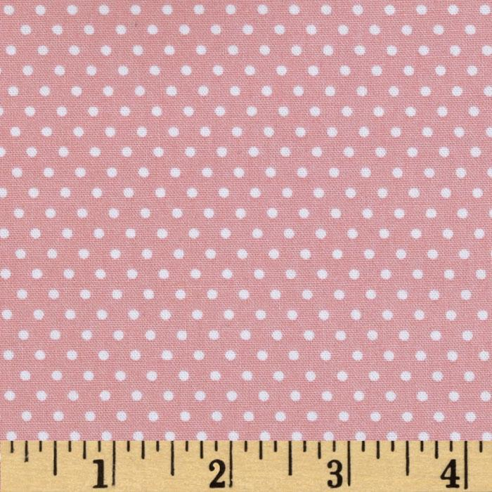 Riley Blake Willow Organic Dot Pink