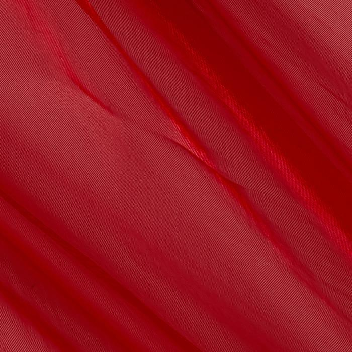 Organza Solid Red