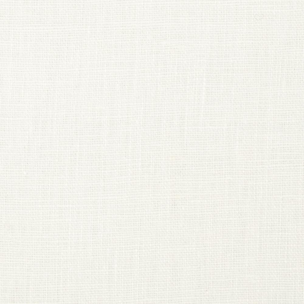 European 100% Linen Fabric White
