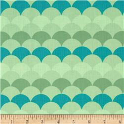 Hello Tokyo Lineal Domes Adventure Fabric