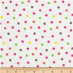 Bright Now Multi Dots White