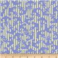 Kanvas Cabana Anchor's Away Stripe Periwinkle/Sage
