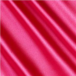 Stretch Charmeuse Hot Pink