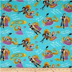 Disney Tangled Rupunzel And Friends Teal
