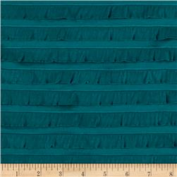 Mini Ruffle Knit Teal