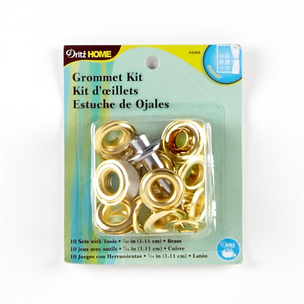 "Grommet Kit 7/16"" Brass"