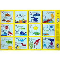 A-B-Seas Soft Book Panel Yellow