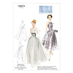 Vogue Misses' Dress Pattern V8874 Size A50