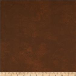 Faux Leather Sienna Brown