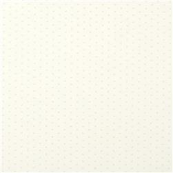 Polka Vinyl White Fabric