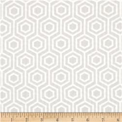 Mint Condition Hexagons Light Grey