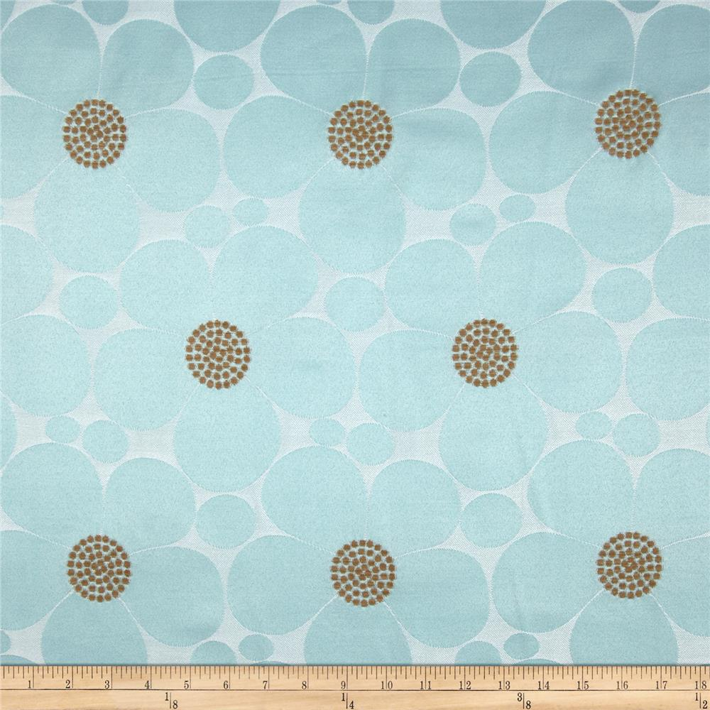 Home Accents Pop Daisy Chenille Sateen Jacquard Pool