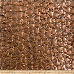 Fabricut Zirconium Alloy Faux Leather Bronze