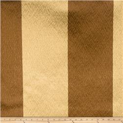 Fabricut Echo Stripe Faux Silk Golden Maple