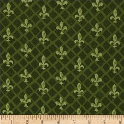 From Paris with Love Fleur De Lis Green