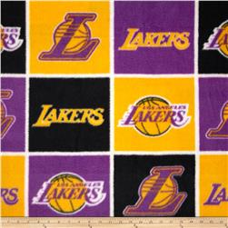 NBA Fleece Los Angeles Lakers Block Multi Fabric