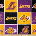 NBA Fleece Los Angeles Lakers Block Multi