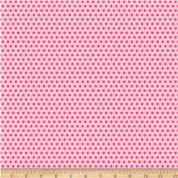 Riley Blake Girl Crazy Dots Pink Fabric