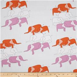 Zaza Zoo Elephant Purple/Orange
