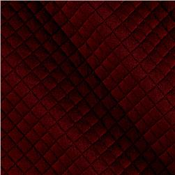 Telio Mini Quilted Knit Diamond Bordeaux
