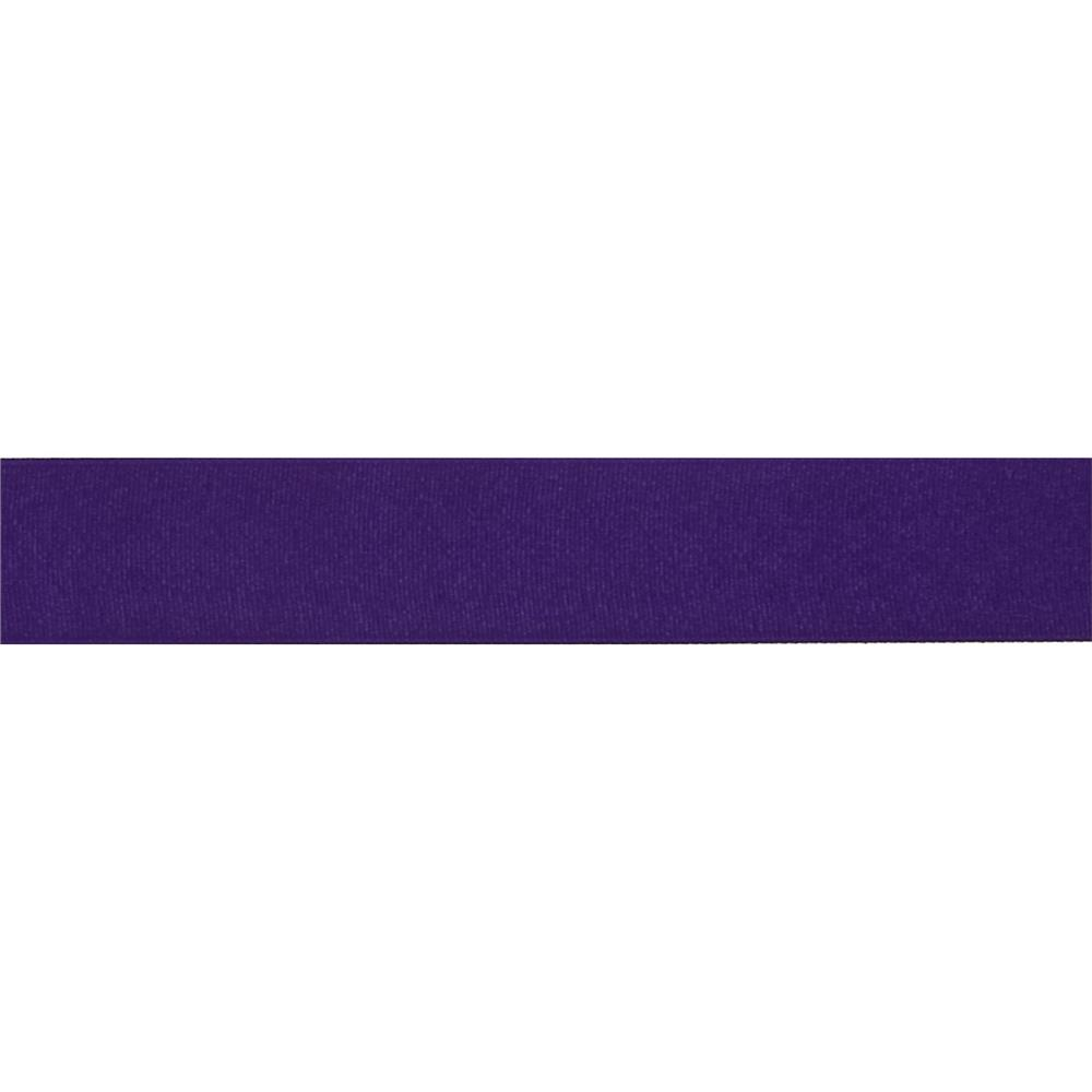 1 1/2'' Grosgrain Solid Ribbon Purple