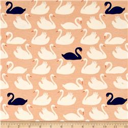 Birch Organic Swan Lake Interlock Knit Bevy Shell