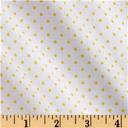 Riley Blake Swiss Dot Yellow