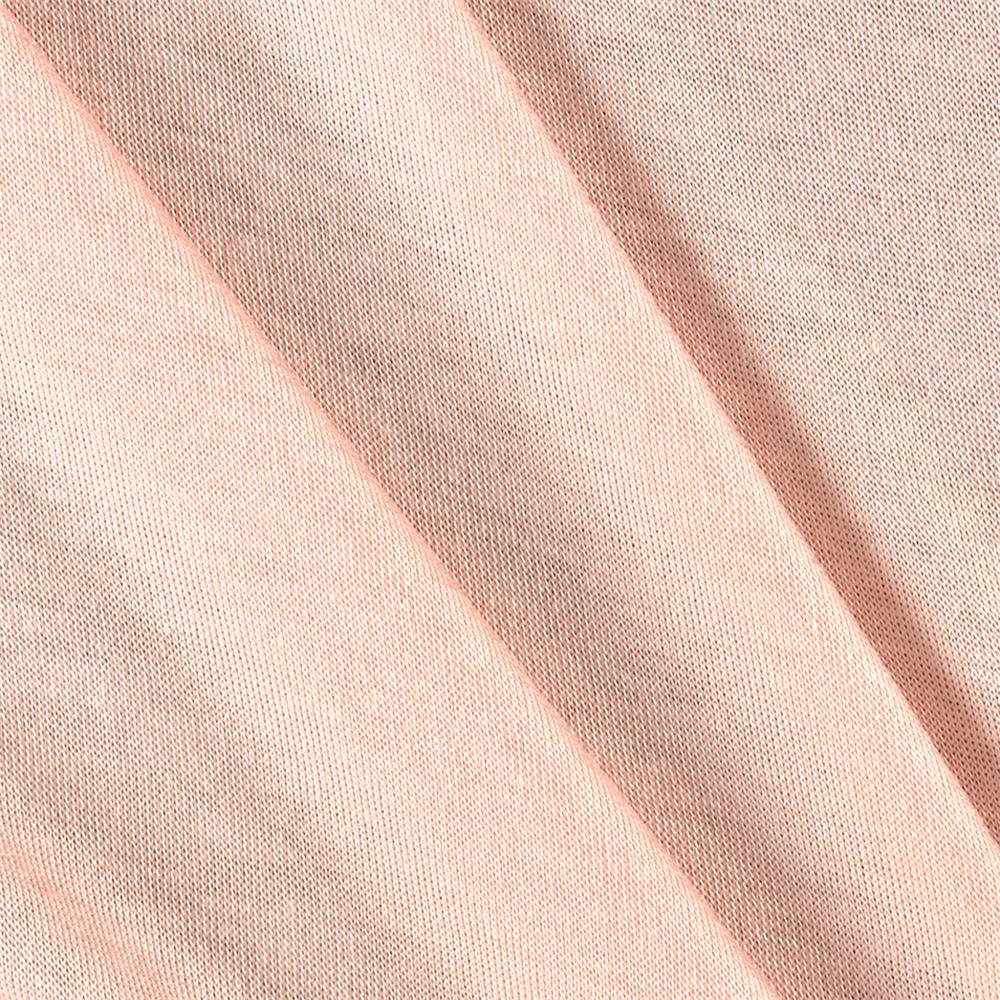 Rayon Spandex Jersey Knit Solid Baby Pink